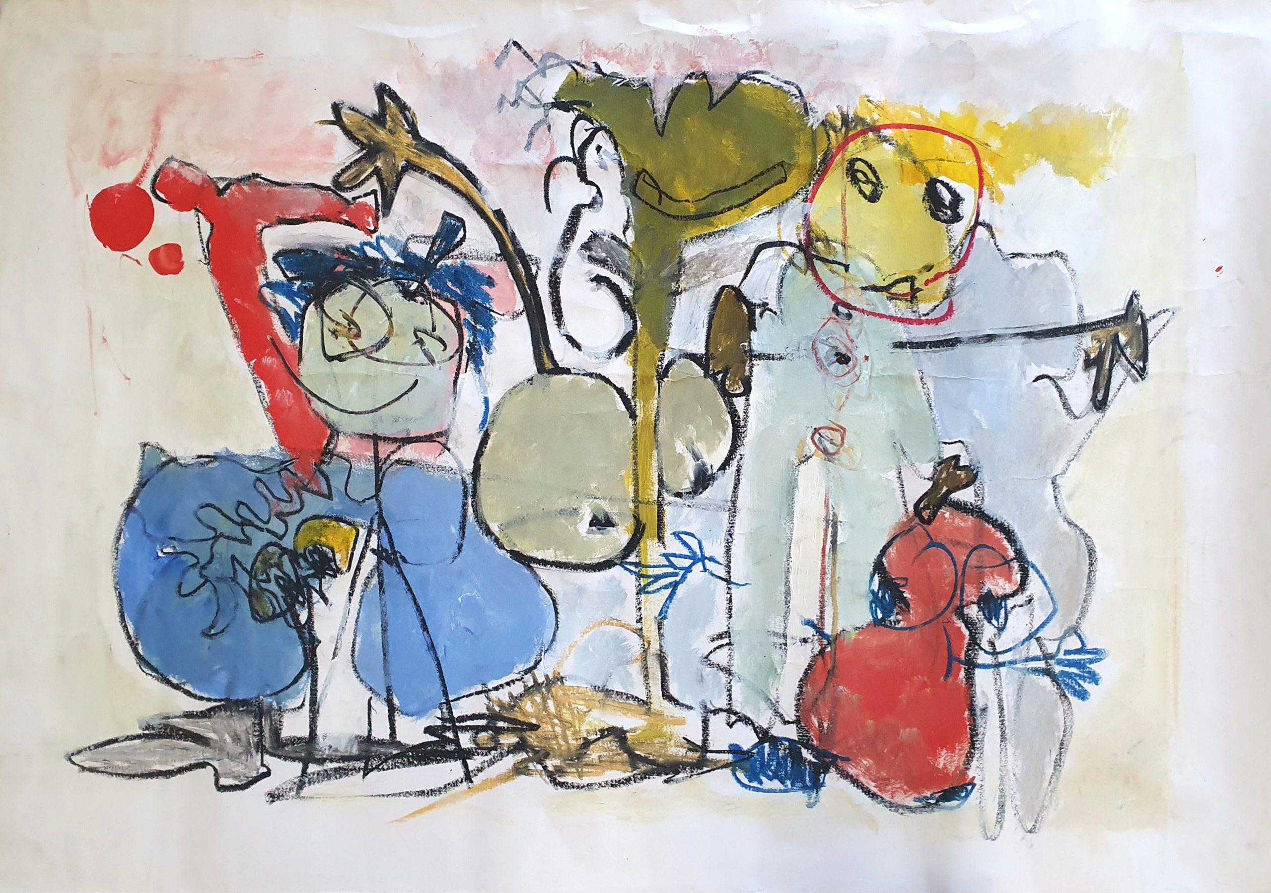 """""""דיוקן משפחתי"""" ,1996"""