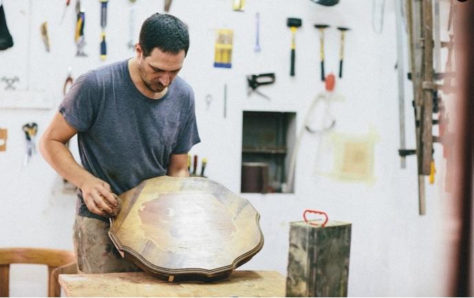 דני פורת בסטודיו